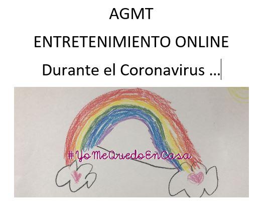 ENTRETENIMIENTO ONLINE DURANTE EL CORONAVIRUS